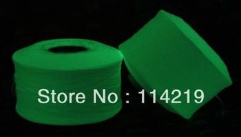 PET Photoluminescent Yarn/36F 3kg Per Cone Glow In The Dark, Luminous  Polyester Filament Yarn For Knitting