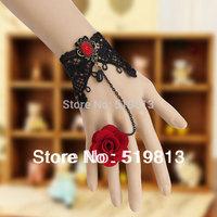 bracelet vners, gothic rose flower, alibaba china ,2014 new products