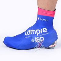 2012 tour de france LAMPRE pro team bike bicycle shoe covers, windstopper & waterproof cycling shoe covers