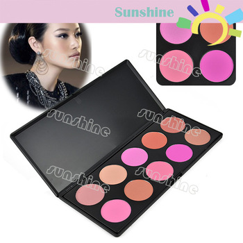 Women Makeup Cosmetic Contour Shading Camouflage Concealer Powder Palette Press Powder 10 Colors/Set Free Shipping 6936