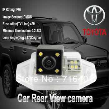CMOS rear camera for prado TOYOTA ,170degree angel,waterproof,free shipping