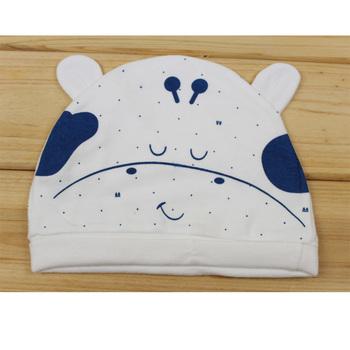 New arrival cloth newborn infant 100% cotton hat tire cap hat c-05