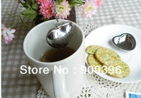 wholsale 200pc/lot tea strainer novelty desion heart shaped tea balls phare locking infuser filter tea infuser tea maker  #955