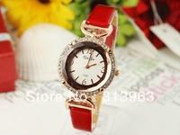 DDT083 Hot watch fashion watch section of glass watch lady clock