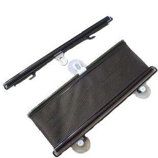 Car sun-shading stoopable automatic retractable insulated curtain contraction black sun-shading curtain sun block
