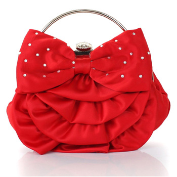 K12t bling flower the bride bag banquet bag evening bag bridesmaid package