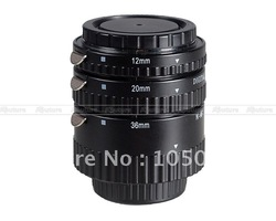 Auto Focus Macro Extension Tube Ring For Nikon AF AF-S DX FX D700 D300 D90(China (Mainland))