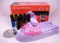 free shipping  14pcs/set  Nail art stamping /nail art machine /nail art printer /nail art painter
