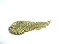 Vintage Bronze Angel Wings Jewelry Charm Pendants Findings Fit Jewelry Making a1018