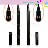 Hot 2 Colors Brown/ Black New Cosmetics Makeup  Not Dizzy  Waterproof Liquid Eyeliner Pencil Free Shipping 7798