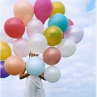 New Arrival Wholesale 10packs/lot Party&Holiday Decoration Ballon, Multicolor Latex Wedding&Festival Ballon 100pcs/pack