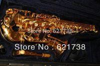 best Newest beautiful 82z alto sax  Custom Eb Alto Saxophone Gold Laquer case in stock