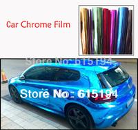 30cmx152cm Car Phone Notebook Chrome Mirror Chrome Brush Chrome Vinyl Car Body Wrap Car Vinyl Car Film Free Shipping