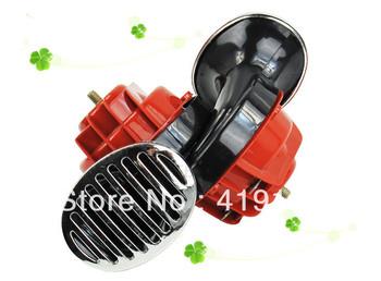 Free shipping!!!12V car waterproof car horn/Speaker/Siren+2pcs connect wire~best seller