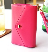 candy purse wallet for iphone 4s, 5, sumsung I9100, galaxy , min bags, cell phone wallet with crown element 6 colors available