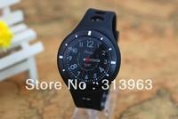 DDT088 Hot watch black casual watch silica gel watch clock