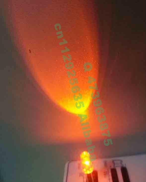 Great expression 45-60 degree view angle Orange 5MM lamp led advertising display LED 2.0-2.5V(CE&Rosh)(China (Mainland))