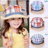 10pcs- Baby Girls & Boys Summer Hat, Kids beach cap , 154L