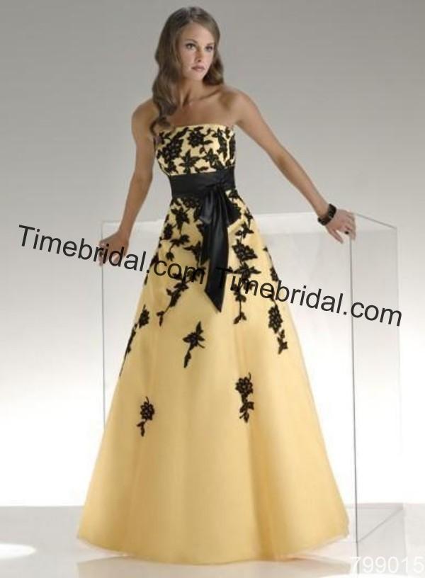 Black And Yellow Wedding Dresses: Black and yellow wedding ...