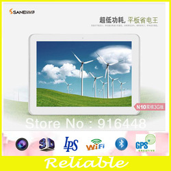 shenzhen tablet computer 10.1inch android 4.0.4 dual camera dual core Flash 11.3 tablet pc with WIFI(China (Mainland))