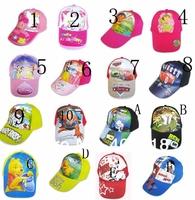 Kids cap children Cartoon hats many design Hats fashion Caps 16 design