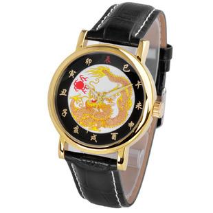 Fashion vintage men's watch dragon ss1 male watch brief fashion luminous Men fashion table(China (Mainland))