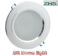 2.5 3.5 4 5 6 8  inch LED downlight lamp Frosted Glass Antifog Bathroom Recessed Ceiling Down Light lamps 85V-265V input