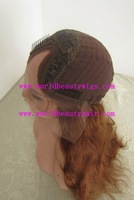gifts available 5% discounting u shape half wig factory supply 16-20'' natual wave 4# free shipping