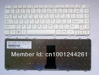 FREE SHIPPING NEW original laptop Keyboard for LENOVO Y450 Y450A Y450G Y550 Y550A V-101020AS1-US WHITE  Competitive price