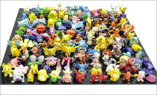 Wholesale 144pcs/Lots Pokemon Action Figures 2-3cm Free Shipping(China (Mainland))