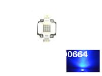 12pc 10W 10 Watt Royal Blue High Power LED beads Light Lamp Chip 450-455NW