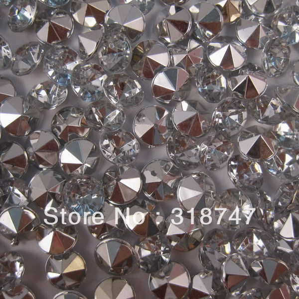 Free shipping 8mm transparent rhinestone crystal wedding Beautiful decoration and DIY 052001001 (13)(China (Mainland))