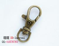 Bronze vintage pocket watch keychain clothing accessories