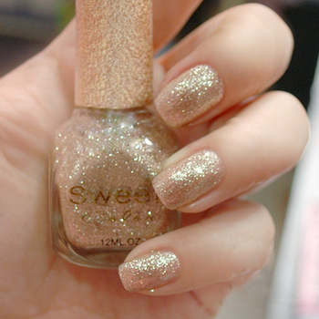 Sweet color eco-friendly nail polish oil gold noble gold champagne color