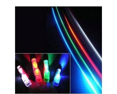 free shipping 6pcs/lot Magic finger light multicolour colorful laser light ring light-up toy 4(China (Mainland))