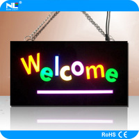 Shenzhen Free Shipping Deluxe Epoxy and Resin Acrylic Fluorescent LED Sign