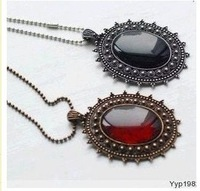 Hot &Restore ancient ways Bohemian amber necklace of precious stones+ Free Shipping