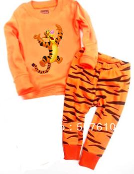 6sets/lot  pajamas baby wear set 100% conton baby long sleeve pajamas Baby Pyjamas, Children Pyjamas, Children Sleepwear G-4139
