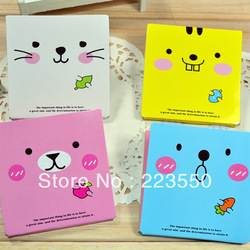 Free shipping Cute cartoon picture post-it Color diversity Sticky note Memo cube Wholesale price(China (Mainland))