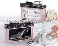 Fashion Wedding Wine Supplies Shoe Thing Bottle Opener Favor (Set of 12 Boxes)