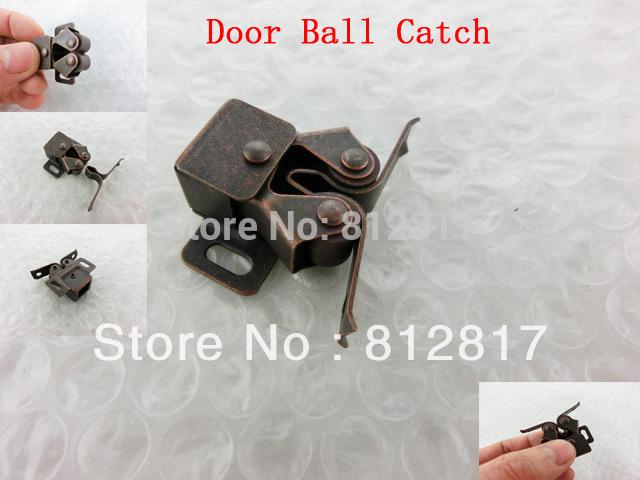 Медь Тон Латуни Кабинет Шкаф Дверь Двойной Шаровой Защелка Поймайте шкаф изотта 23к дверь правая ангстрем