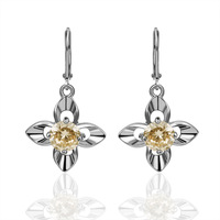 New Arrived Quality 18KGP Austrian Crystal Star Drop Earrings Women 2013 Fashion Jewelry Earrings Ladies Gift Free Shipping E261