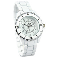 Watch female male fashion lovers watches white women's watch ladies watch
