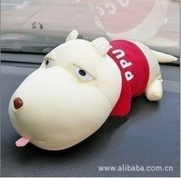 Free shipping Car decoration car accessories car cartoon package long dog bamboo charcoal bag package dog