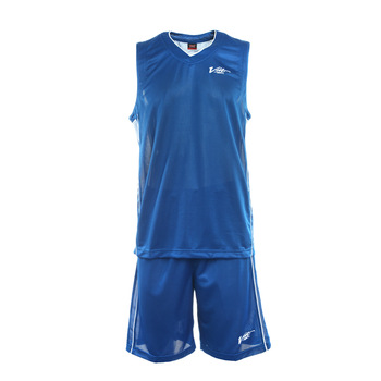 Voet voit basketball clothes set blue Men ultra-light sweat absorbing breathable 113105096