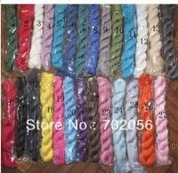 Ladies cotton Plain color Neck scarf solid color SCARVES ponchos wrap scarves shawls 30 colors 5pcs/lot #1747