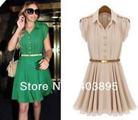2013 Sexy Women's Chiffon Princess Pleated Summer Short Shirt Skirt Brand Fashion Ladies Skirt,Free Shipping