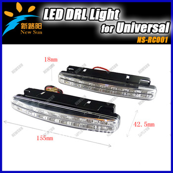 High power side mounted LED DRL Daytime Running light kit for car