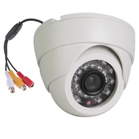Vanxse CCTV Audio Dome security camera 700TVL Sony CCD Audio 24IR Home Surveillance camera 3.6mm wide lens Audio camera