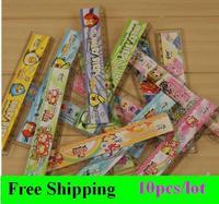 Free shipping (10 pieces/lot) Cartoon animal plastic Straight ruler 15CM